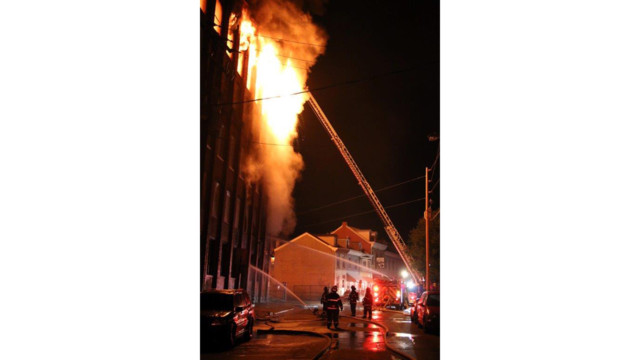 Four-Alarm Fire Heavily Damages Reading Mill Building Under Renovation