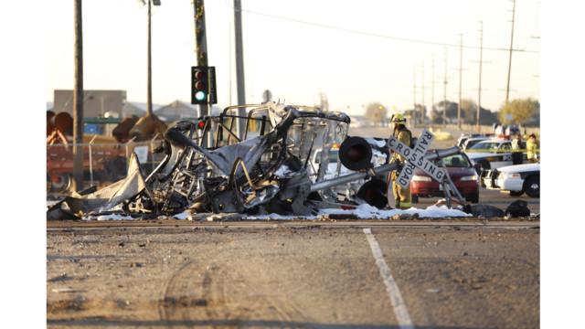 Calif. Commuter Train Hits Truck; Dozens Injured