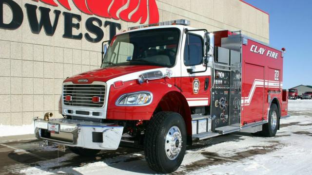 Clay Fire, Indiana, Puts Tanker/Pumper In Service