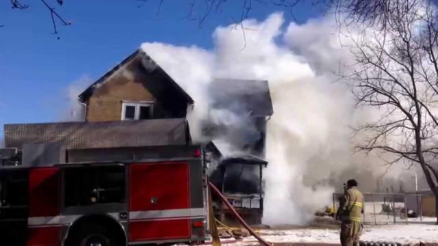 Three Perish in Iowa Fire