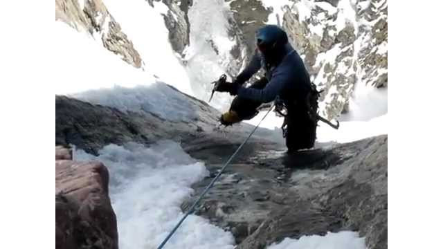 Colo. mountain climber saved at last second