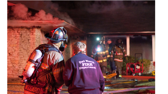 Photo Story: Four Texas FDs Summoned to House Fire