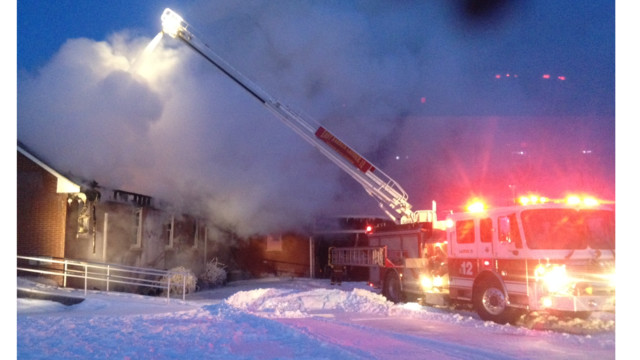 Photo Story: Eight FDs Called to Ky. Church Fire