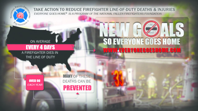 "NFFF ""UNDER 50"" CAMPAIGN: Who responds to a firefighter's worst day?"