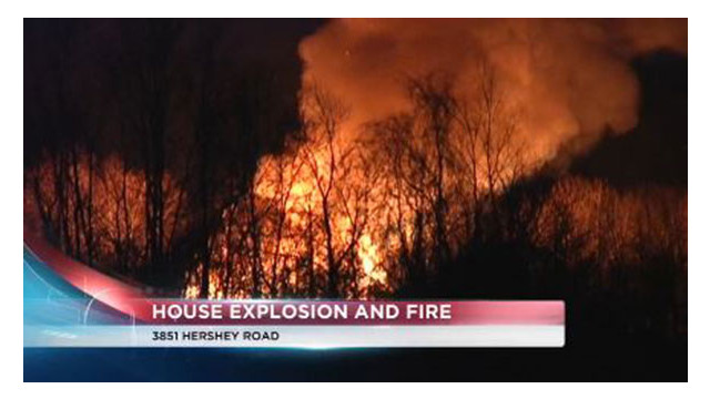 Pa. Home Explodes