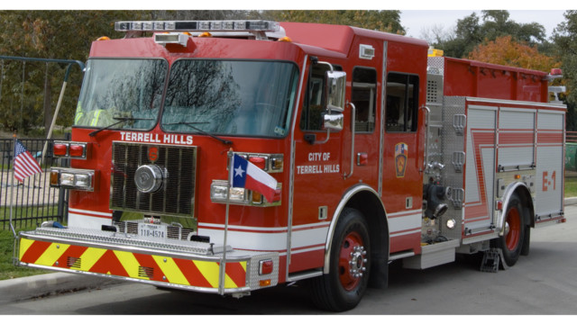 Terrell hills texas gets new sutphen fire pumper firehouse terrell hill sutphen delivery 54d12ba466ea1 sciox Gallery