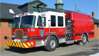 E-111 Put in Service With Logan Fire Co. No. 1  in Pa.