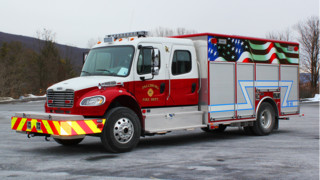 Fallsburg, N.Y. Fire Dept. Rolls With Loaded Rescue