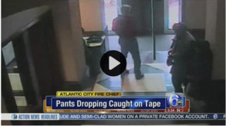 N.J. Fire Chief in Hot Water for Dropping Pants