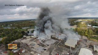 On the Job Ohio: Four-Alarm Fire  Destroys Seven Buildings at Lima Industrial Complex