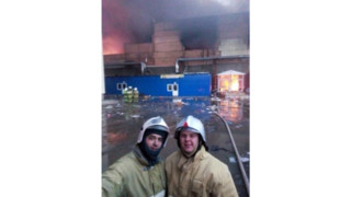 Russian Firefighters Could Lose Jobs Over Selfie