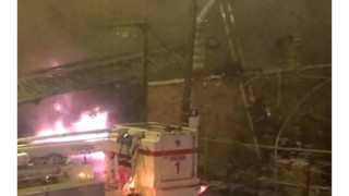 Video Captures Chicago Firefighter Being Hit by Aerial