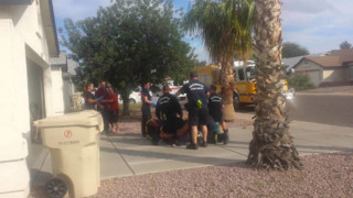 Two Az. Firefighters Suspended for Slugging Patient