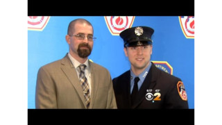 FDNY firefighter saves Marine with bone marrow