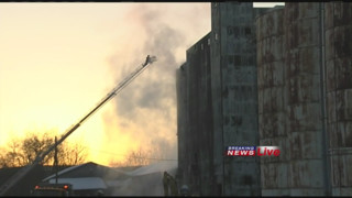 Mass. grain mill blaze creates challenges