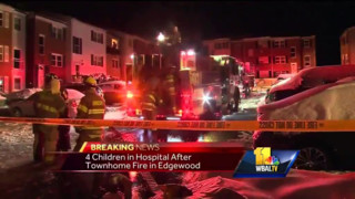 Woman, Four Kids Jump to Escape Md. House Fire