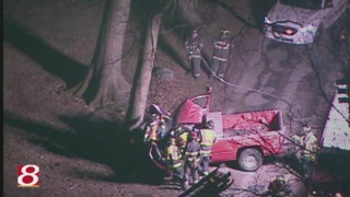 Ind. Firefighters Extricate Driver of Truck