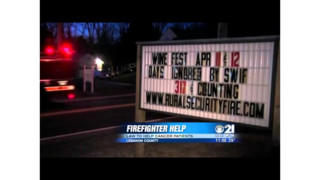 Pa. Fire Chief Fights for Benefits