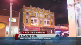 Firefighter Hurt in Milwaukee Fire