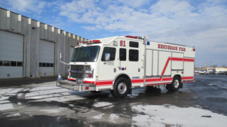 Custom Rear-Mount Pumpers Delivered in Nevada