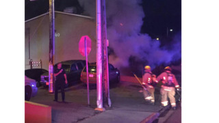Las Vegas Apartment Fire Forces 23 Outside