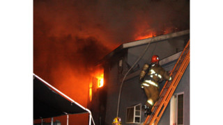 Photo Story: Los Angeles Crews Tackle Dwelling Fire