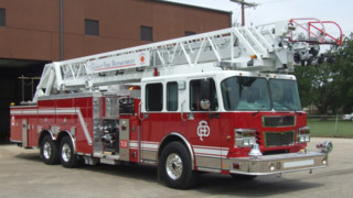 Crowley, Texas, Fire Dept. Adds 125-foot Aerial to Fleet