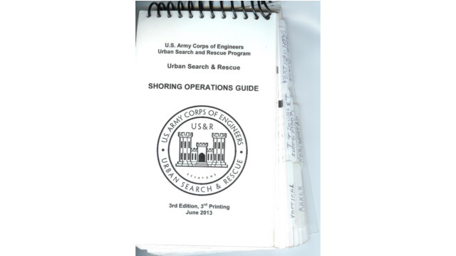 Tech Rescue Tools of the Trade: Field and Shoring Operations Guides