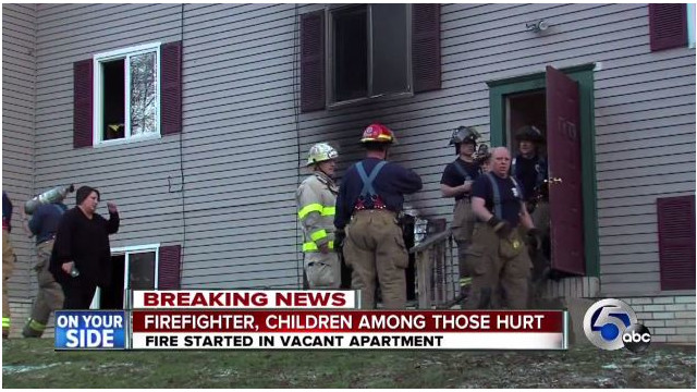 Three Kids Dropped From Windows to Ohio Firefighters