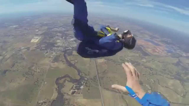 Man has seizure while skydiving