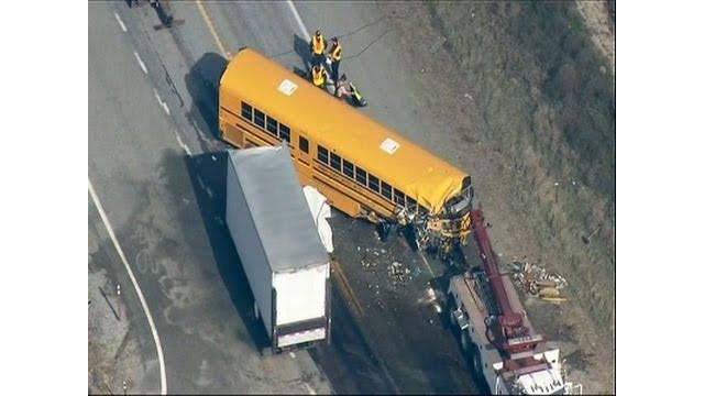 Deadly Wash. school bus crash