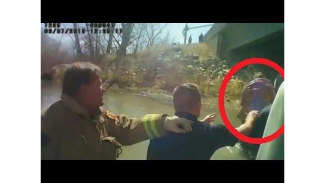 Body Cam Captures Dramatic Baby Rescue in Utah