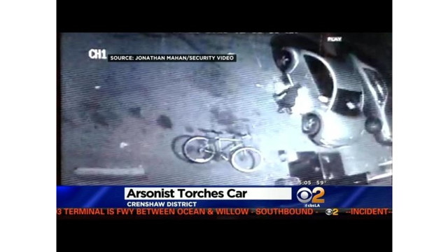 Suspected Arsonist Caught on Camera in Calif.