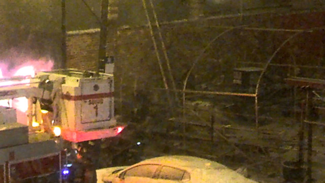 Chicago Firefighter Knocked from Roof