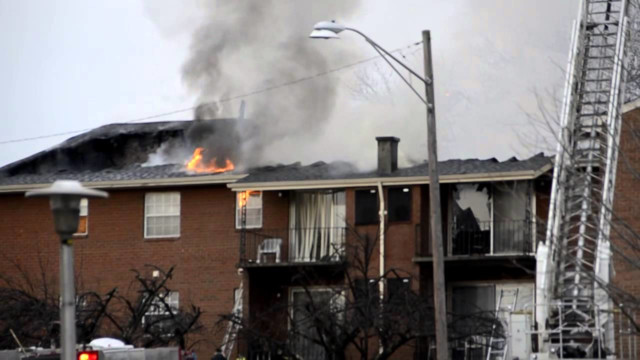 Dozens Displaced by Baltimore Fire
