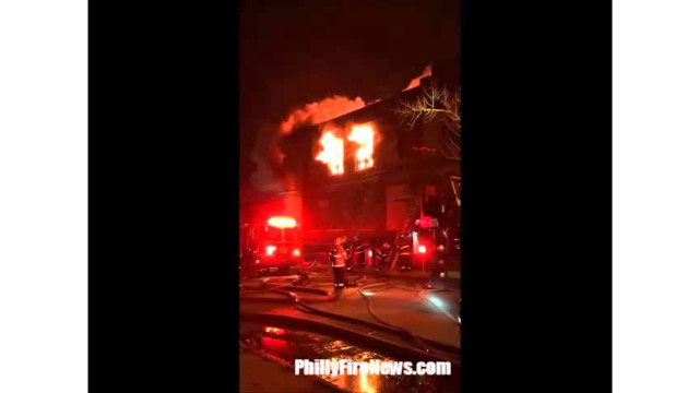 Philly Firefighters Tackle Four-alarm Blaze