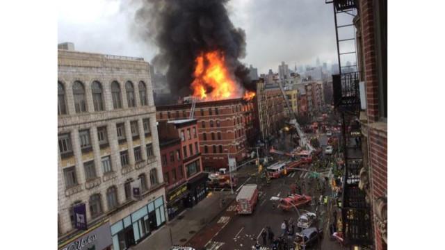 Dozens Injured in NYC Explosion