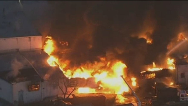Fire Destroys Pa. Sheet Metal Plant