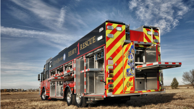 Orlando, Fla., Takes Delivery of Heavy Rescue 1