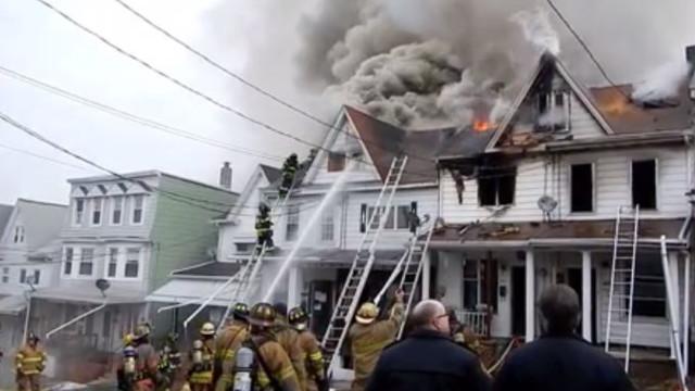 Mount Carmel, Pa. Homes Destroyed