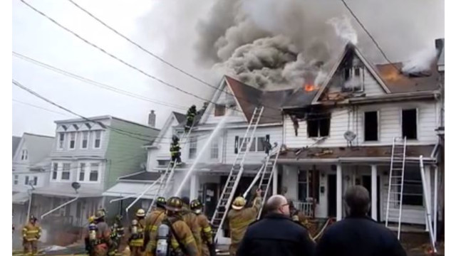 Chief Returns Home After Collapsing at Pa. Fire