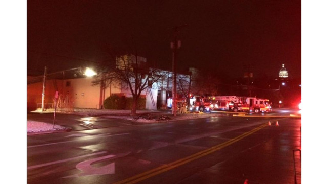 Salt Lake Fire Station Blaze Sends Crew to Hospital
