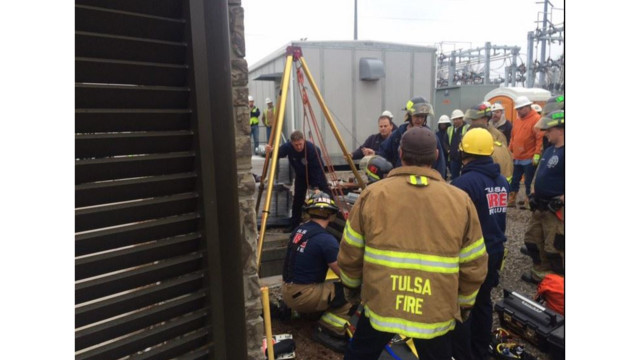 Rescue of Fallen Okla. Worker Called 'Textbook'