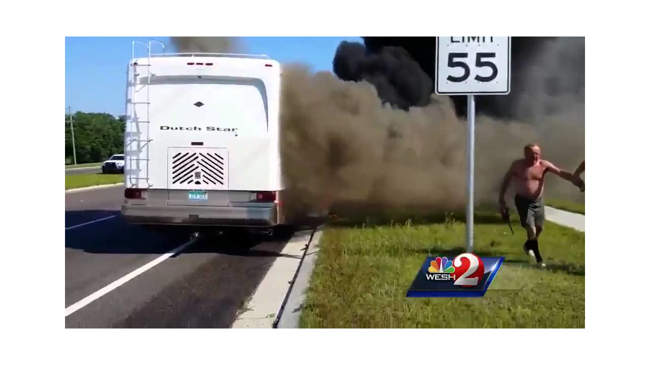 Good Sams In Fla Rescue People From Burning Rv Firehouse