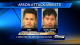 Fla. Man Set on Fire; Two Arrested
