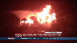 Flames Spread to Texas Restaurant