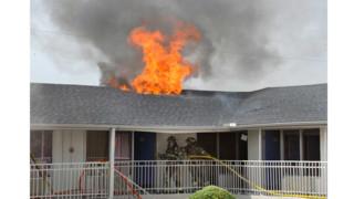Photo Story: Three-alarm Fire Hits Texas Motel