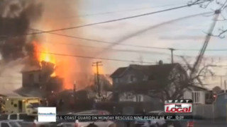 Ind. Firefighters Called to Massive Mill Fire