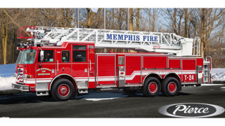 Memphis Fire Dept. Gets New 100-foot Aerial