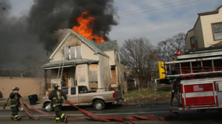 Photo Story: Fire Engulfs Vacant Chicago Home